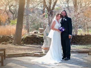 The wedding of Whitney and James