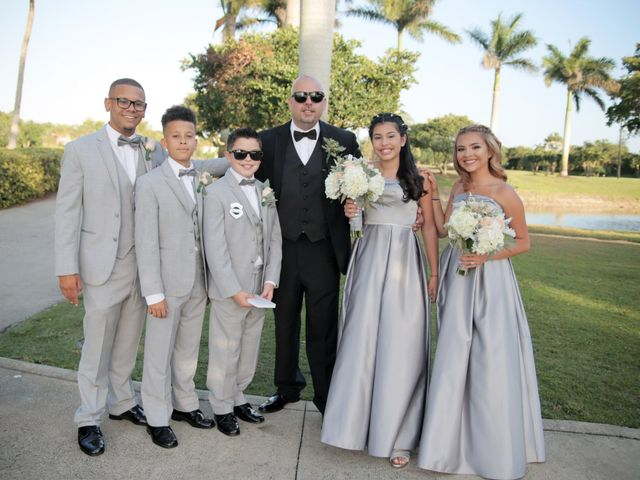 Richard and Annetys's Wedding in Fort Lauderdale, Florida 10
