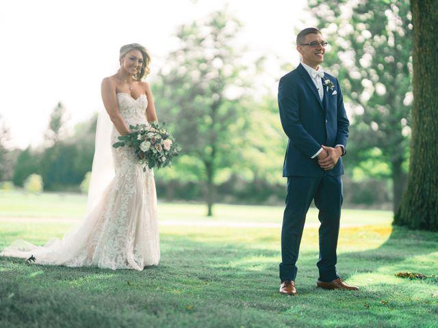 David and Elizabeth's Wedding in Lemont, Illinois 16