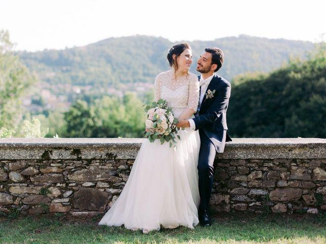 The wedding of Francesca and Alberto
