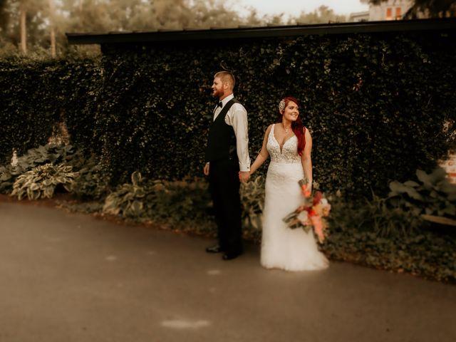 The wedding of Laurel Davenport and Jake Switzer