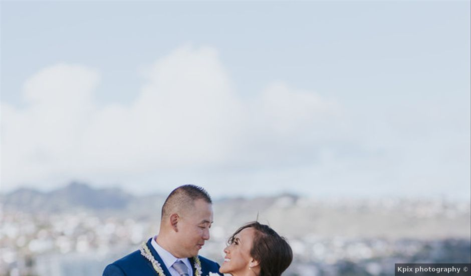 Kamalani and Derek's Wedding in Honolulu, Hawaii