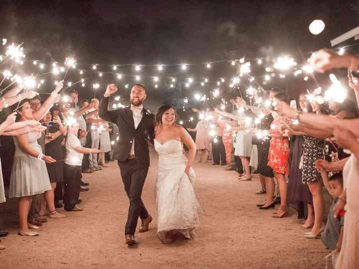 The wedding of Rosita  and John