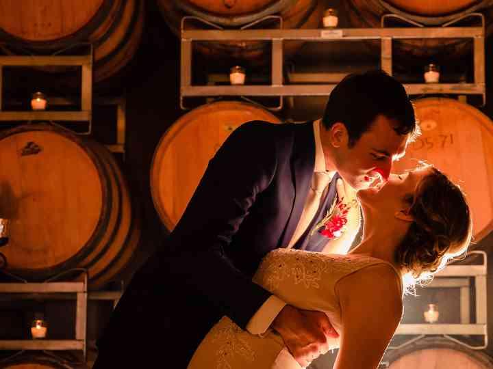 The wedding of Elyse and Matt