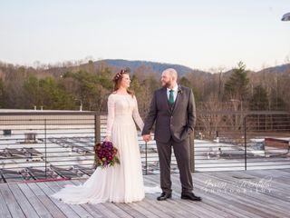 Chris and Lauren's Wedding in Asheville, North Carolina 16