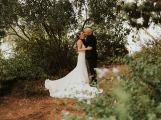 The wedding of Sarah and Chris