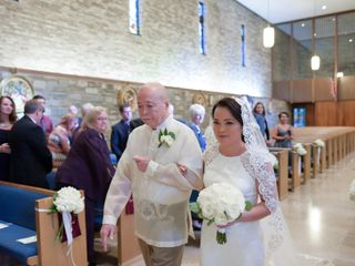 The wedding of Grace and Michael 1