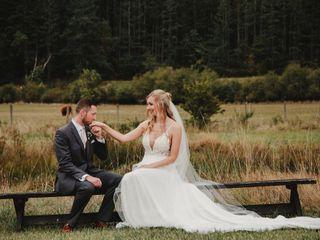 The wedding of Alexandra and Matt 1
