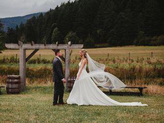 The wedding of Alexandra and Matt 2