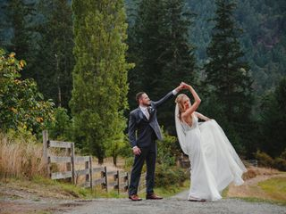 The wedding of Alexandra and Matt