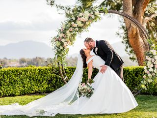 The wedding of Aly and Brad