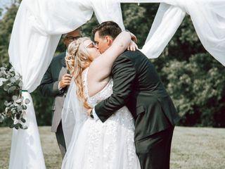 The wedding of Jake and Elizabeth