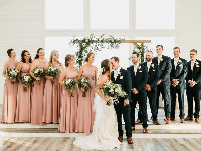Angel and Morgan's Wedding in Montgomery, Texas 16
