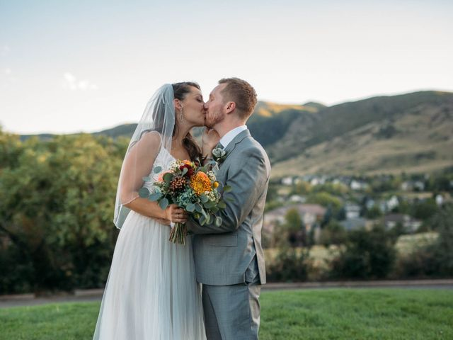 Mike and Kelly's Wedding in Littleton, Colorado 22
