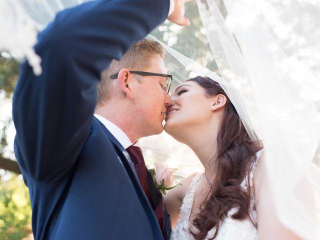The wedding of Adrianna and Zachary