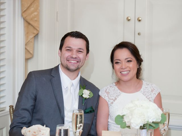 The wedding of Grace and Michael