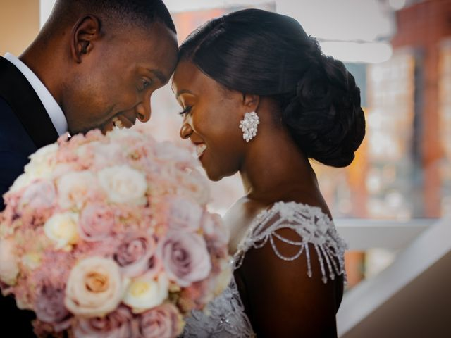 The wedding of Lordley and Chinelo