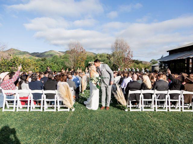Kelly and Kina's Wedding in Nipomo, California 14