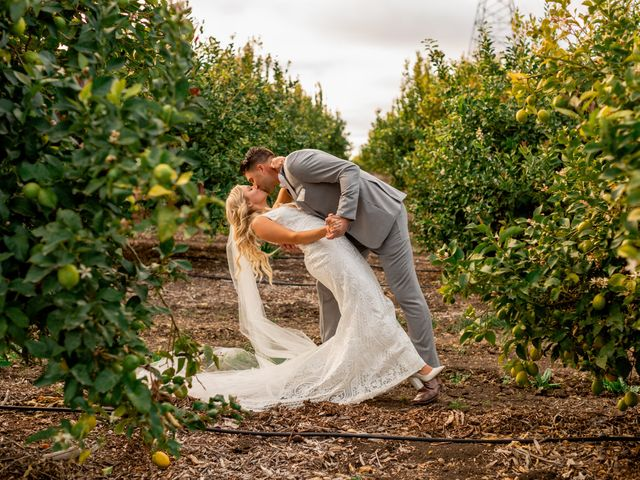 Kelly and Kina's Wedding in Nipomo, California 27