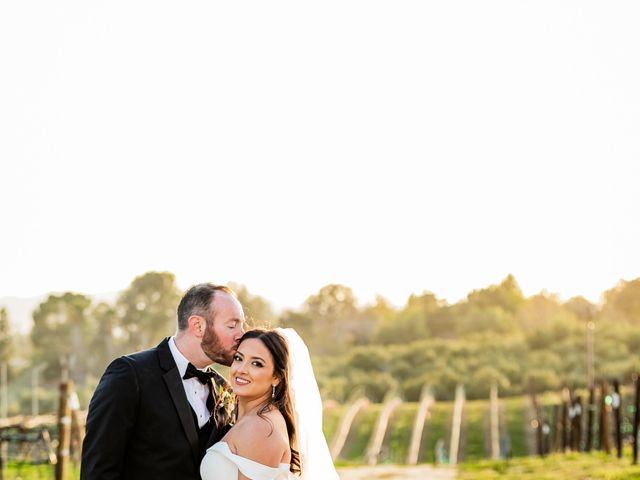 Brad and Aly's Wedding in Temecula, California 3