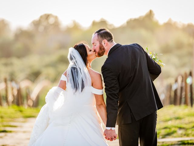 Brad and Aly's Wedding in Temecula, California 4