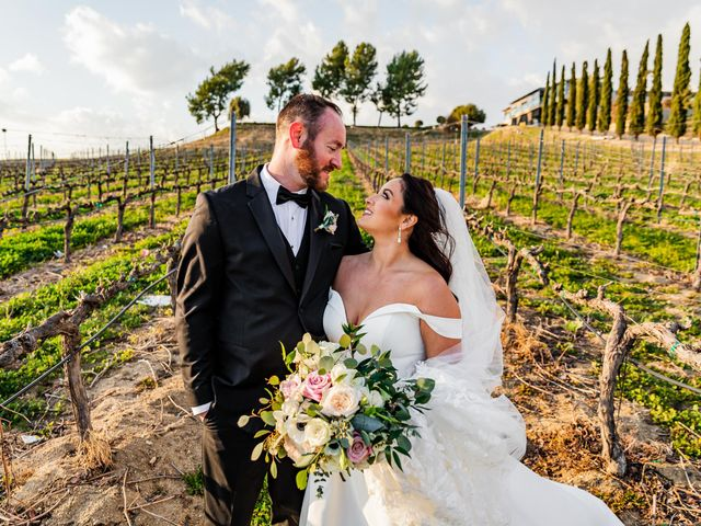 Brad and Aly's Wedding in Temecula, California 5
