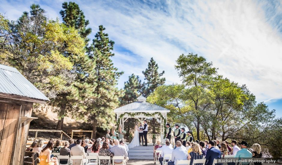 Kate and Miller's Wedding in Virginia City, Nevada