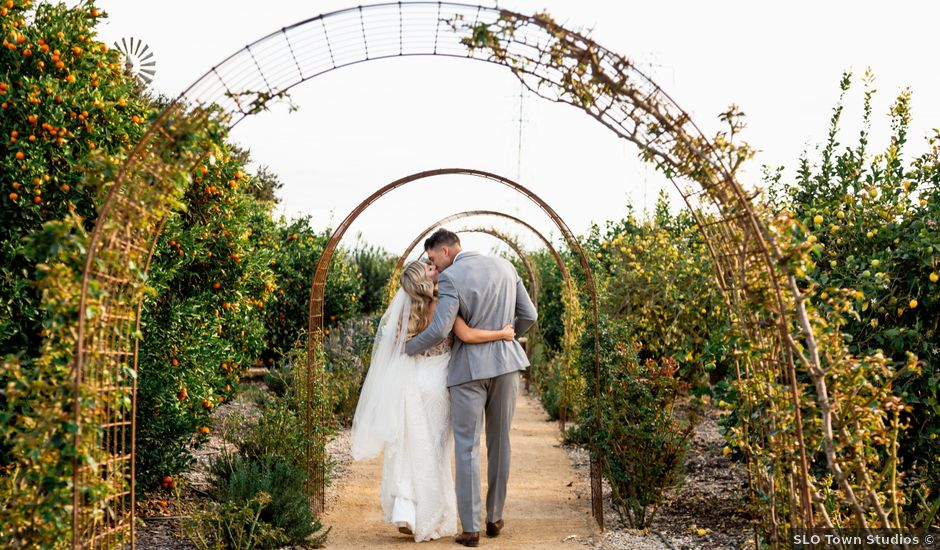 Kelly and Kina's Wedding in Nipomo, California