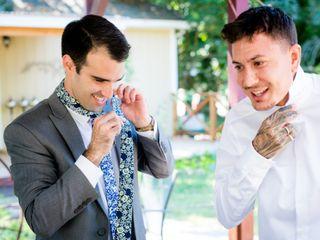 The wedding of Isa and Matt 1