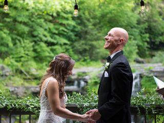 The wedding of Kara and Aaron