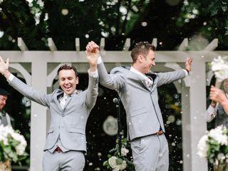 The wedding of Jonathan and Peter