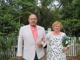 The wedding of Katherine and David 1