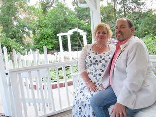 The wedding of Katherine and David
