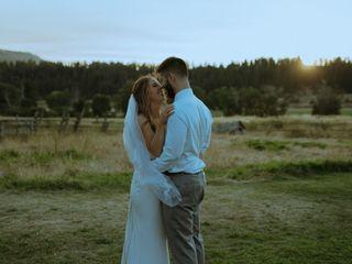 The wedding of Kayla and Stanley