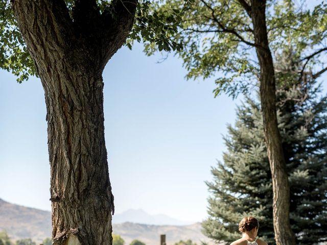 Chris and Kirsten's Wedding in Boulder, Colorado 7