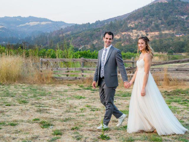 The wedding of Isa and Matt