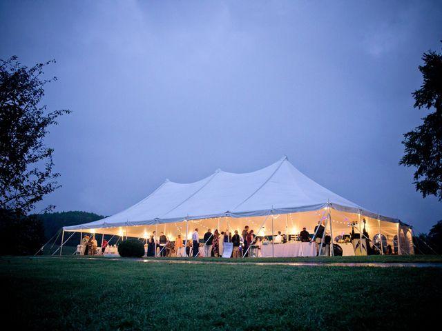 Derek and Summer's Wedding in Hico, West Virginia 3
