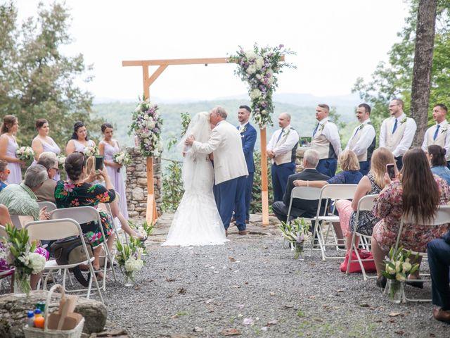 Derek and Summer's Wedding in Hico, West Virginia 4