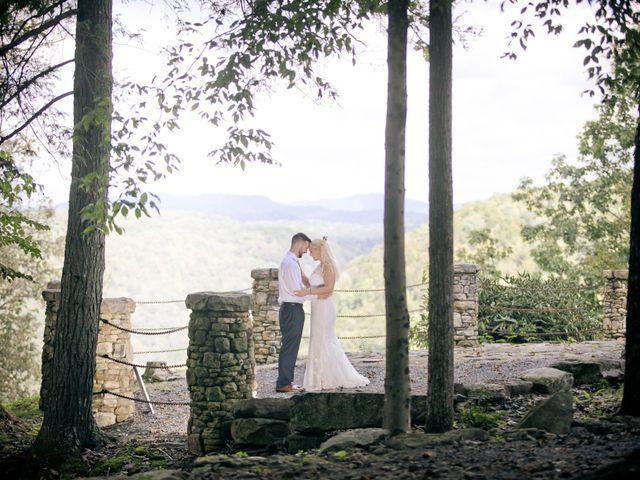 Derek and Summer's Wedding in Hico, West Virginia 5