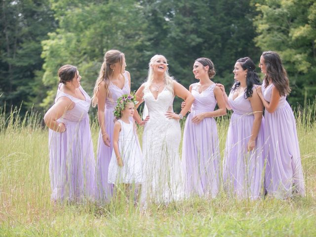 Derek and Summer's Wedding in Hico, West Virginia 9