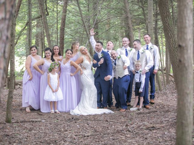 Derek and Summer's Wedding in Hico, West Virginia 10