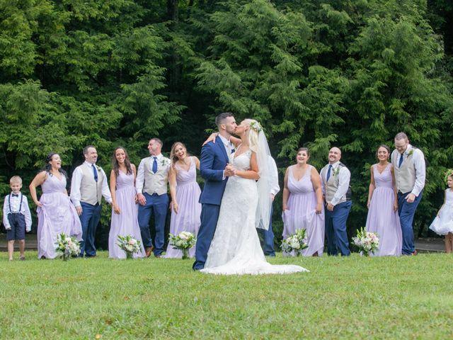 Derek and Summer's Wedding in Hico, West Virginia 11