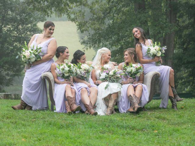Derek and Summer's Wedding in Hico, West Virginia 12