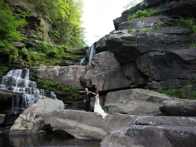 Aaron and Kara's Wedding in Mount Pocono, Pennsylvania 8