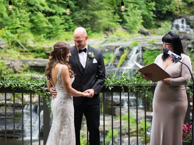 Aaron and Kara's Wedding in Mount Pocono, Pennsylvania 14