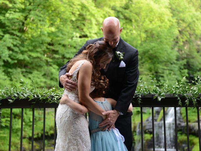 Aaron and Kara's Wedding in Mount Pocono, Pennsylvania 20