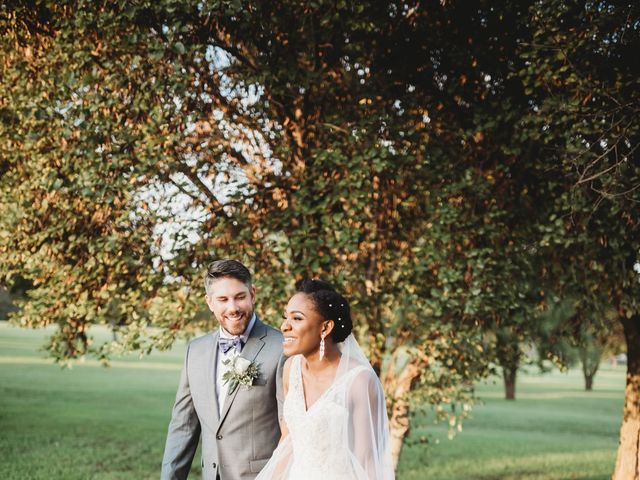 Bill Repavich and Rachel Runnels's Wedding in Washington, Oklahoma 4