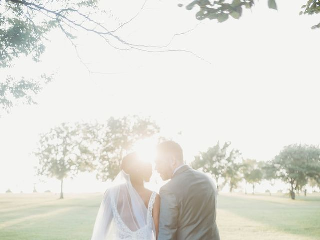 Bill Repavich and Rachel Runnels's Wedding in Washington, Oklahoma 5