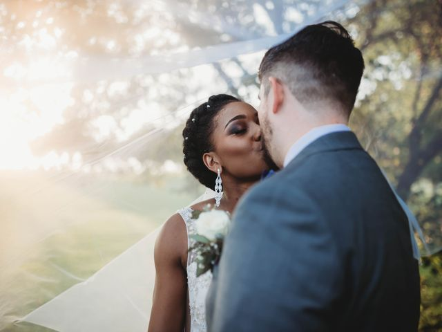 Bill Repavich and Rachel Runnels's Wedding in Washington, Oklahoma 9