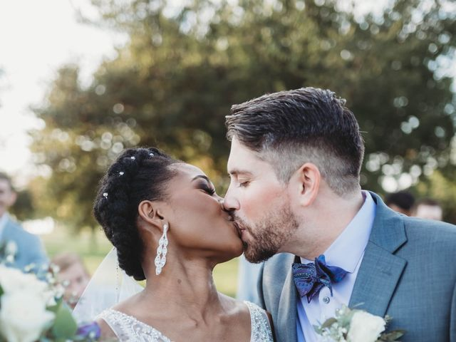 Bill Repavich and Rachel Runnels's Wedding in Washington, Oklahoma 12